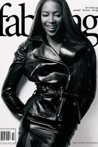 Naomi Campbell styled by Jonas Hallberg