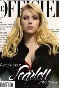 Scarlett Johansson styled by Jonas Hallberg