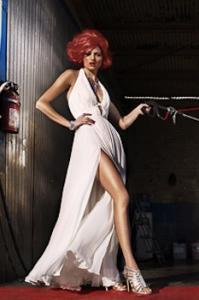 Amanda Booth styled by Jonas Hallberg