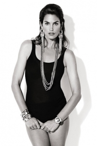 Cindy Crawford styled by Jonas Hallberg