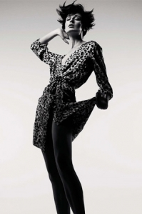 Erin O'Connor styled by Jonas Hallberg