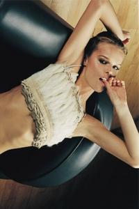 Eva Herzigova styled by Jonas Hallberg