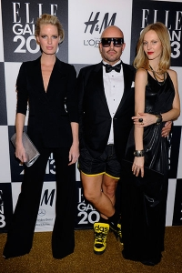 Jonas Hallberg, Caroline Winberg and Malin Persson - ELLE Sweden Fashion Award January 2013