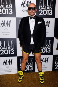 Jonas Hallberg - ELLE Sweden Fashion Award January 2013