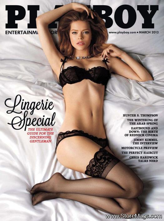 PLAYBOY USA March 2013 styled by Jonas Hallberg