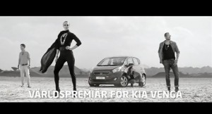 Kia Venga Launch Commercial
