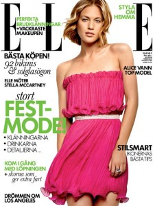 ELLE Cover with Alice April 2012